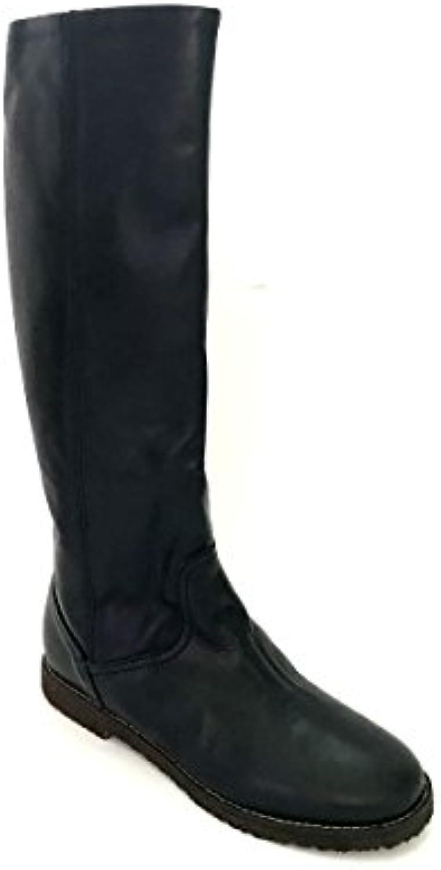 ZETA scarpe Stivali Donna in Pelle Cuoio Nero Made in  MainApps | scarseggia  | Uomini/Donna Scarpa