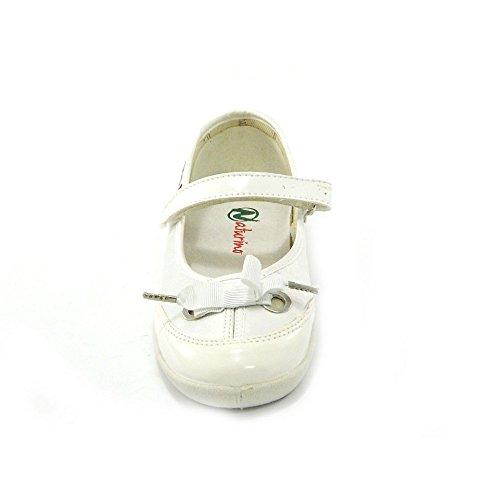 Naturino - Naturino kinderballerina weiss 7973 Weiß