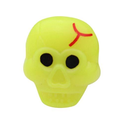 Lazzboy Halloween Gefälligkeiten für Kinder Preise Blinkende LED Gelee Leuchten Ringe Spielzeug(E) (Party Stadt Armee Kostüm)