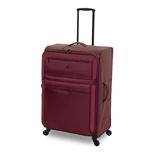 QUBED, Koffer Rot burgunderfarben Large