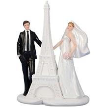 Figura de decoración de novios para tarta de boda