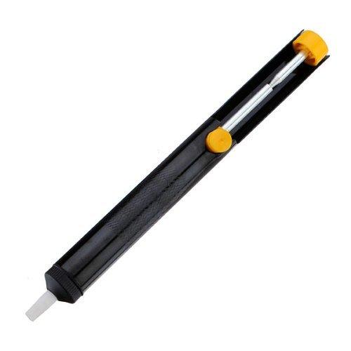 Sonline Stylo pompe + Outil soudure Soudage Pompe a Dessouder Ventouse Vide Aluminium Embout Teflon