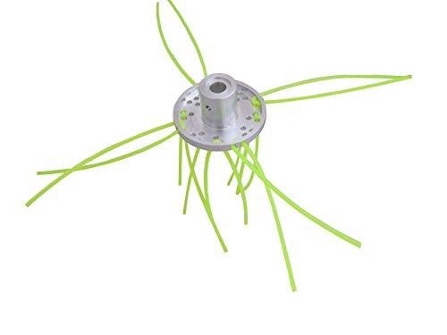 YERD Aluminium Fadenkopf für Freischneider mit 20,0 mm bzw. 25,4 mm Aufnahme (Aufnahme 2-36 Fäden)