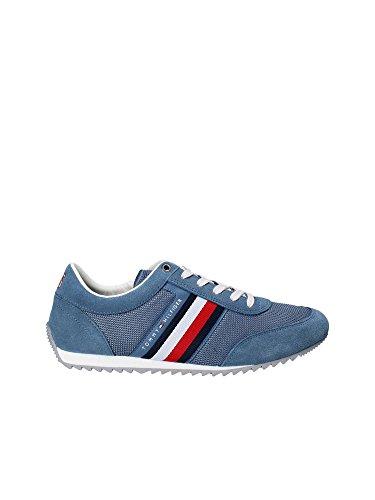 Tommy Hilfiger FM0FM01314013   Puntera para botas y zapatos Hombre Multicolor Mehrfarbig (Blau) 41 EU