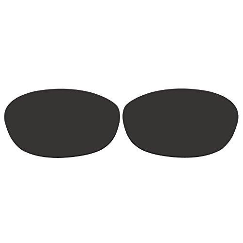 ACOMPATIBLE Ersatz-Objektive für Oakley Fives 2.0Sonnenbrille, Black - Polarized