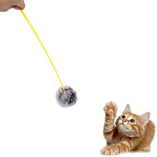 Barra con Bola para Gato Juguete Divertido para Mascota Gato