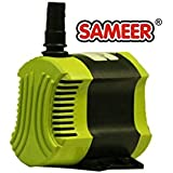 Sameer Submersible Cooler Pump for Desert Air Cooler,Aquariums,Fountains,18W