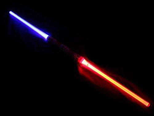 Doppel Laserschwert 110 cm Blau | Lichtschwert | zweifarbig