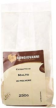BONGIOVANNI FARINE e BONTA' NATURALI Estratto di Malto In Polvere per Prodotti da Forno - Formato da 250 g