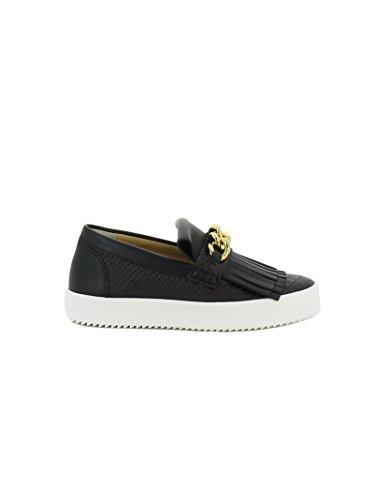 giuseppe-zanotti-design-mujer-rs7026003-negro-cuero-zapatillas-slip-on