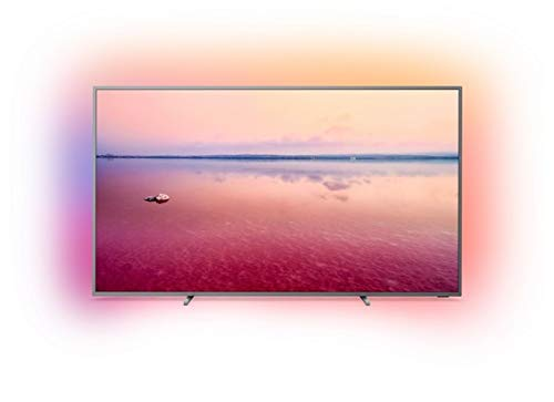 Philips Ambilight 75PUS6754/12 TV 75 inch LED Smart TV (4K UHD, HDR 10+, Dolby Vision, Dolby Atmos, Smart TV) mid silver