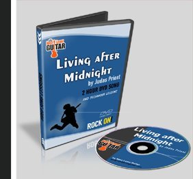 Living After Midnight By Judas Priest Guitar Lesson DVD