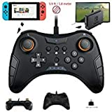 WHITEOAK Switch Pro Controller Manette de Jeu USB Filaire pour Nintendo Switch,...