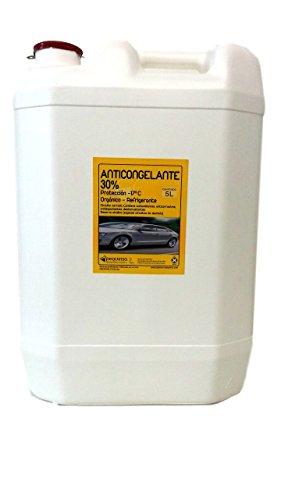 Anticongelante 30% -17ºC. Envase 30 litros. Color verde. Listo al uso. Apto para vehículos y circuitos cerrados/refrigeración