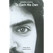 [To Each His Own] (By: Leonardo Sciascia) [published: April, 1992]