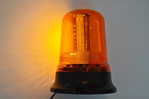 Emergencia LED de aviso luz ámbar giratoria faro 12–24V para camión volquete camión Tractor