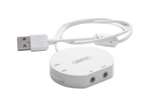Griffin iMic USB Audioadapter  - Weiß -