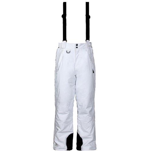 Cox Swain Herren 2-Lagen Ski Snowboard Funktionshose Bowl Limited - 5.000mm Wassersäule, Colour: White, Size: XXL