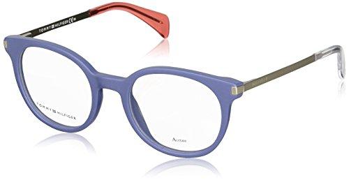 Tommy Hilfiger Unisex-Erwachsene TH 1380 Brillengestelle, Blau, 48