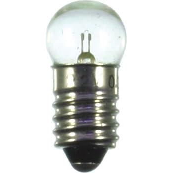 """Farbe Ersatzlampen 11mm Kugel Fassung E10-3,5V ROT /> 5 Stück  /""""NEU/"""""""