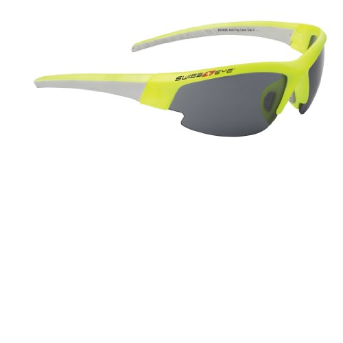 Sportbrille von Swisseye, Gardosa Evolution, neon yellow/light grey