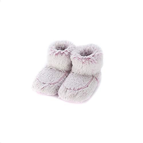 Warmies - Botas zapatillas color rosa Marshmallow