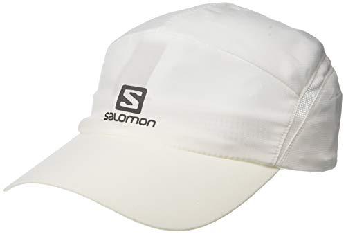 Salomon, Leichte Laufkappe, XA CAP, Unisex, Verstellbar, Größe: L/XL, Weiß, LC1037000
