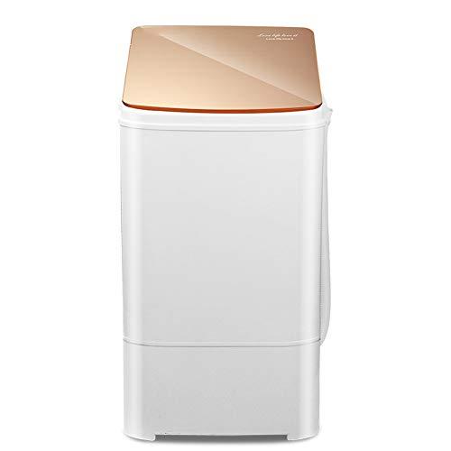 PIGE Mini-Single-Barrel tragbare Waschmaschine, kompaktes Design 3KG Kapazität mit Timing-Funktion Halbautomatische Mikro-Waschmaschine für Schlafzimmer Balkon Begrenzter Platz für das Badezimmer