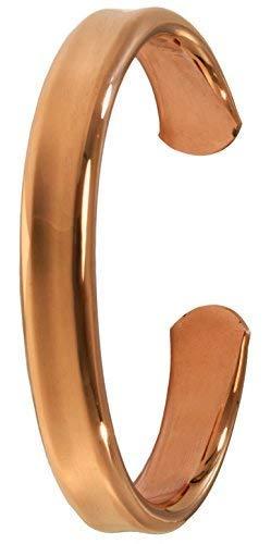 Schaepers Kaleidoskope 6 / Kupferarmband/Handgeschmiedet aus massivem Kupfer/Breite 10mm (Large) (Kupfer Bildet)