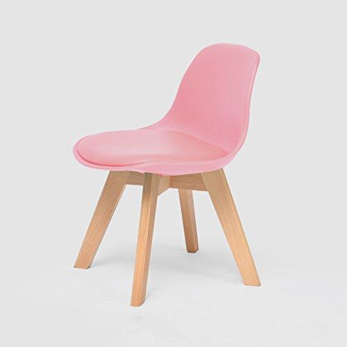 LIZHIQIANG Massivholz Kinderstuhl Lernen Stuhl Hause Rückenlehne Kleinen Stuhl Schreiben Stuhl Kleine Hocker Hocker Baby Hocker ( Farbe :...