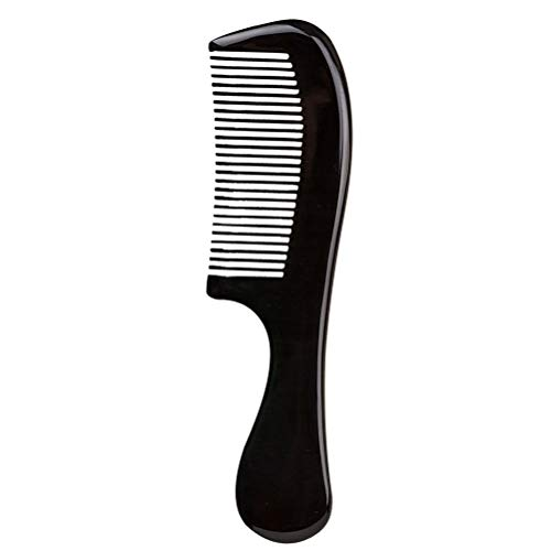 Vosarea Natürliche OX Horn Hair Comb für Frauen Männer Bart Kämme Schließen Zähne Antistatische Haarpflege - Horn Hair Comb