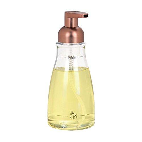 MDesign Dosificador jabón Espuma Recargable 414 ml