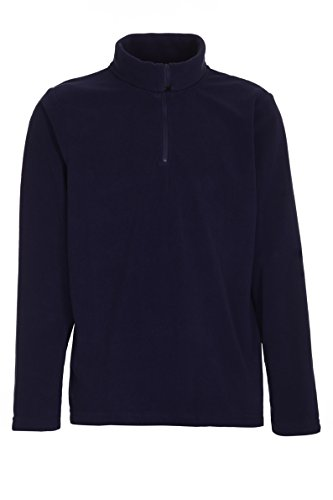 Killtec Jungen Namaro Jr Fleece Shirt, Dunkelnavy, 164 (Jungen-fleece-shirt)