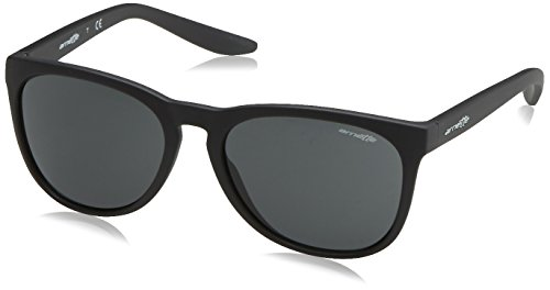 Arnette go time, occhiali da sole unisex-adulto, matte black 01/87, 57