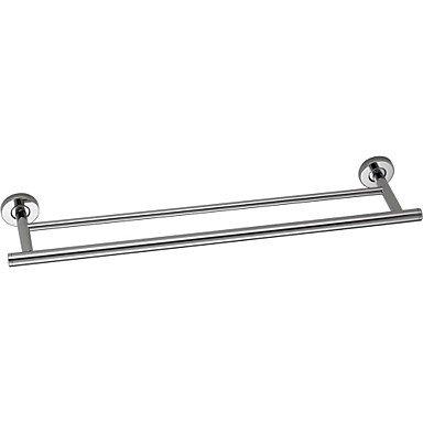 miaoge® Modernes Edelstahl-Wandmontage Badezimmer Double Handtuch Bar -