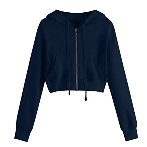 Giacca di Jeans Giacche Moto Cardigan Giacca Smoking da Donna Formale Giacca Vestito Smoking Smoking Cardigan Blazer Donna Abito Top Outwear Donna Top Sportivo (XL,4- Marina Militare)