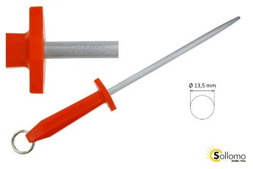 F. Dick Profi Wetzstahl Messerschärfer 48cm rot
