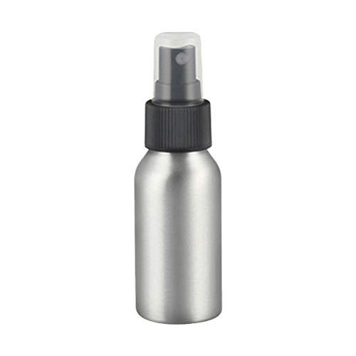 Frcolor Aluminium Vaporisateur de voyage rechargeable conteneurs vides conteneurs de l'huile essentielle 100 ml