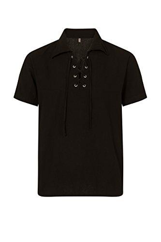 ThaiUK Herren Freizeit-Hemd mehrfarbig mehrfarbig Schwarz