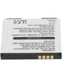 Akku für LG VX8700 SHINE, 3.7V, 850mAh, Li-Ionen