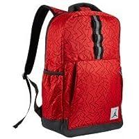 de917611fa Nike Air Jordan Jumpman trapuntato riflettente zaino per PC portatile,  università rosso, nero ZIG
