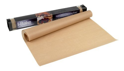 8 X I-Bake Non Stick 330 x 400 mm Cooking Liner Sheet