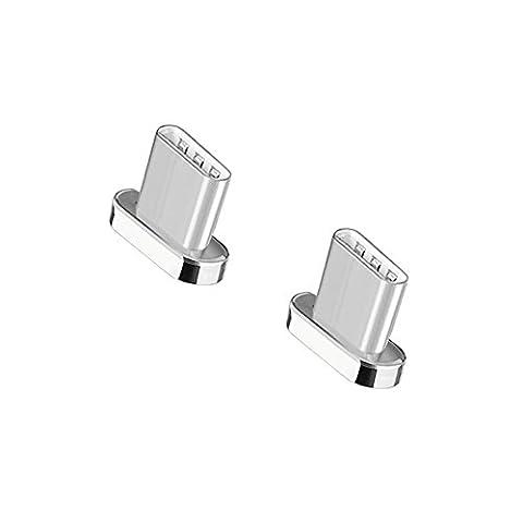Connecteur USB Type-C Magnétique pour NetDot Câble Magnétique Third Generation (Connecteurs USB-C / 2