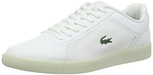 Lacoste Endliner 416 1, Sneakers Basses homme - Blanc - Weiß (Wht 001), 42