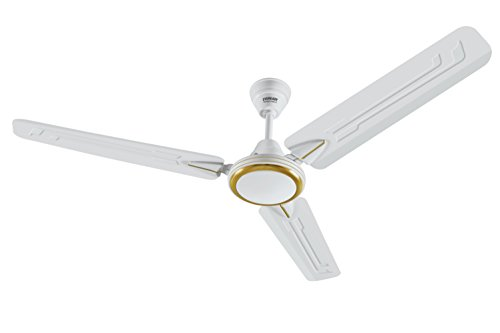 Eveready Super Fab M High Speed 1200mm 3 Blades Ceiling Fan (White)