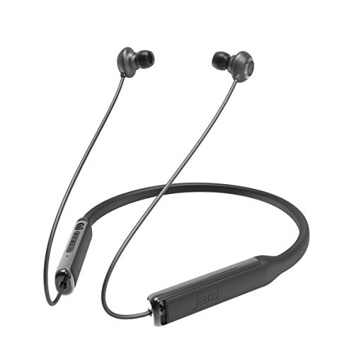 Jam Contour Bluetooth Kopfhörer - Kabellose In-Ear Kopfhörer, Noise Cancelling, schweißresistent, bequemes Nackenband für langen Tragekomfort, Mikrofon, bis zu 7 Std Akkulaufzeit - Black -