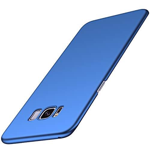 Arkour Galaxy S8 Hülle, Minimalistisch Ultradünne Leichte Slim Fit Handyhülle mit Glattes Matte Oberfläche Hard Case für Samsung Galaxy S8 (Glattes Blau) Slim Fit Hard Case
