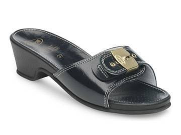 scholl-size-38-navy-blue-leather-look-high-heel-womens-sandals-by-scholl