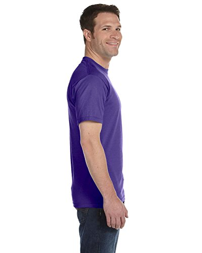 Fruit of the Loom T-Shirts, FL ADT 100% T Weiß XL Violett - Violett