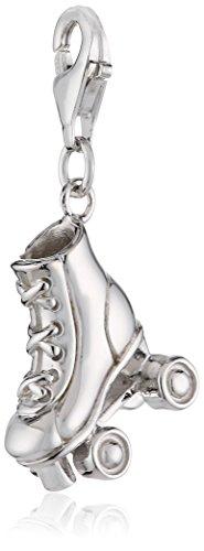 ZEEme Charms&Beads Zeeme Damen-Anhänger 925/- Sterling Silber Rollschuh 280240032